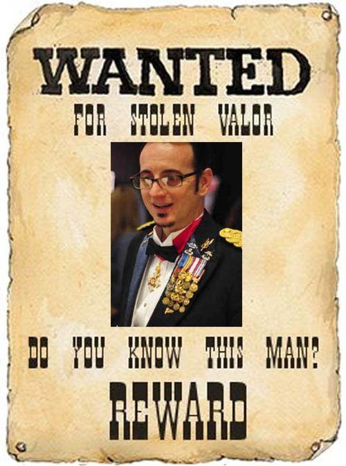 Wanted Stolen Valor