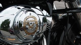 A special Rolling Thunder air cleaner cover...