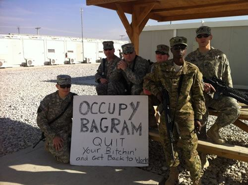 Occupy bagram