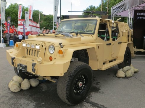 The New Jeep Wrangler...uparmored!