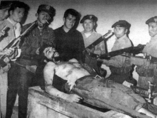 Che+guevara+death+photo
